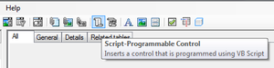 Script button